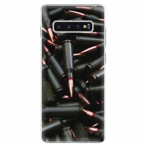 Plastový kryt iSaprio - Black Bullet - Samsung Galaxy S10+