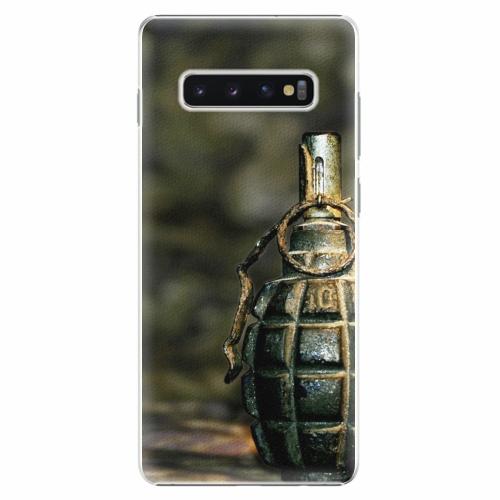 Plastový kryt iSaprio - Grenade - Samsung Galaxy S10+