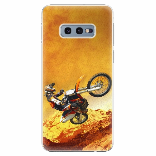 Plastový kryt iSaprio - Motocross - Samsung Galaxy S10e