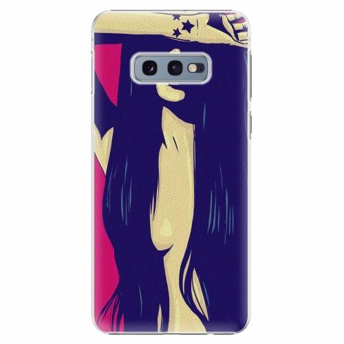 Plastový kryt iSaprio - Cartoon Girl - Samsung Galaxy S10e