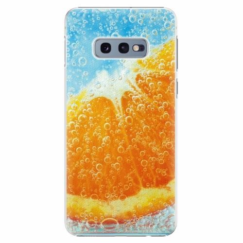 Plastový kryt iSaprio - Orange Water - Samsung Galaxy S10e