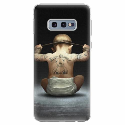 Plastový kryt iSaprio - Crazy Baby - Samsung Galaxy S10e