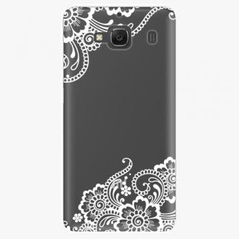 Plastový kryt iSaprio - White Lace 02 - Xiaomi Redmi 2