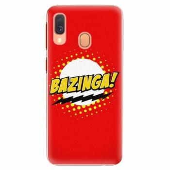 Plastový kryt iSaprio - Bazinga 01 - Samsung Galaxy A40