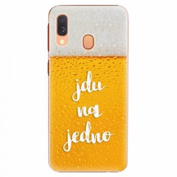 Plastový kryt iSaprio - Jdu na jedno - Samsung Galaxy A40