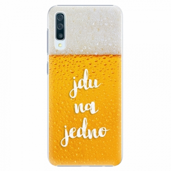 Plastový kryt iSaprio - Jdu na jedno - Samsung Galaxy A50