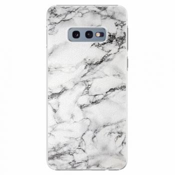 Plastový kryt iSaprio - White Marble 01 - Samsung Galaxy S10e