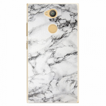 Plastový kryt iSaprio - White Marble 01 - Sony Xperia L2