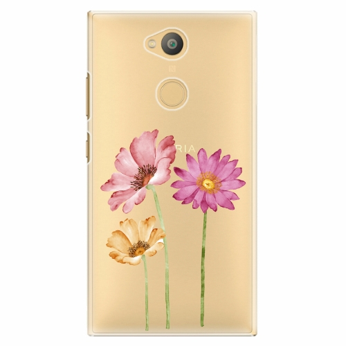 Plastový kryt iSaprio - Three Flowers - Sony Xperia L2