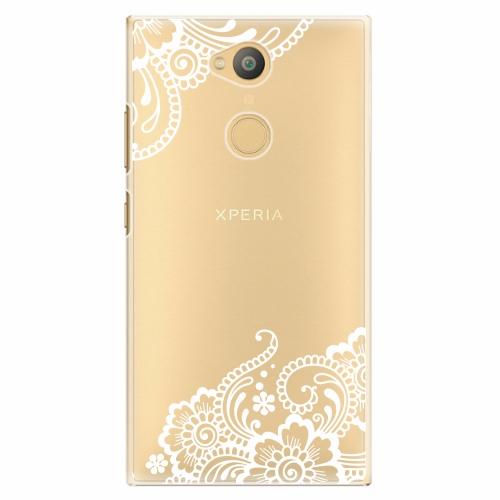 Plastový kryt iSaprio - White Lace 02 - Sony Xperia L2