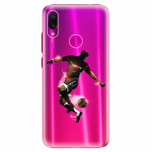 Plastový kryt iSaprio - Fotball 01 - Xiaomi Redmi Note 7