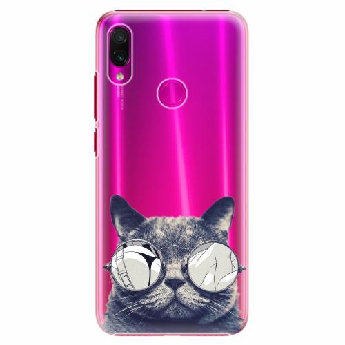Plastový kryt iSaprio - Crazy Cat 01 - Xiaomi Redmi Note 7
