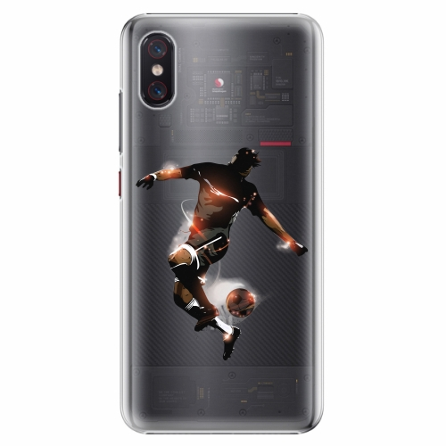 Plastový kryt iSaprio - Fotball 01 - Xiaomi Mi 8 Pro