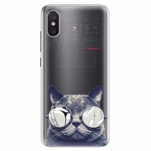 Plastový kryt iSaprio - Crazy Cat 01 - Xiaomi Mi 8 Pro