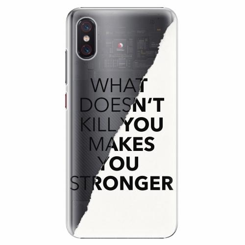 Plastový kryt iSaprio - Makes You Stronger - Xiaomi Mi 8 Pro