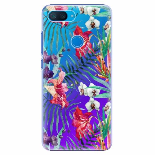 Plastový kryt iSaprio - Flower Pattern 03 - Xiaomi Mi 8 Lite