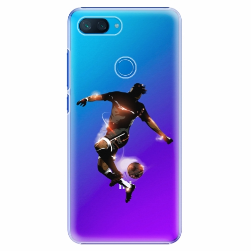 Plastový kryt iSaprio - Fotball 01 - Xiaomi Mi 8 Lite