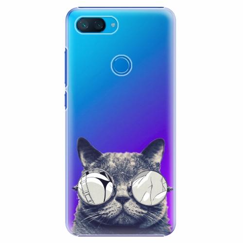 Plastový kryt iSaprio - Crazy Cat 01 - Xiaomi Mi 8 Lite