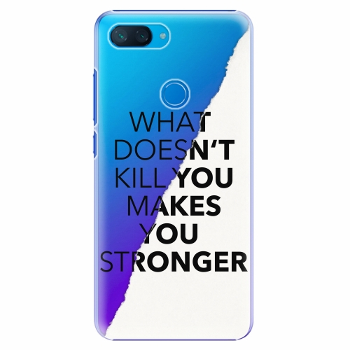 Plastový kryt iSaprio - Makes You Stronger - Xiaomi Mi 8 Lite