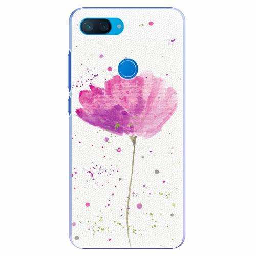 Plastový kryt iSaprio - Poppies - Xiaomi Mi 8 Lite