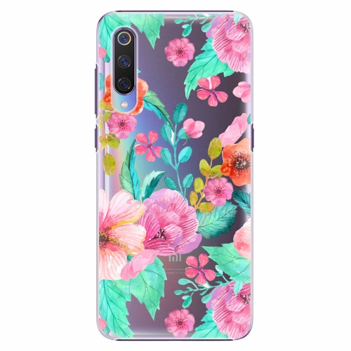 Plastový kryt iSaprio - Flower Pattern 01 - Xiaomi Mi 9