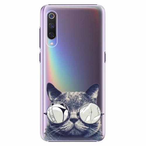 Plastový kryt iSaprio - Crazy Cat 01 - Xiaomi Mi 9