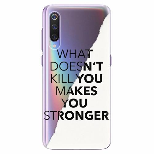 Plastový kryt iSaprio - Makes You Stronger - Xiaomi Mi 9