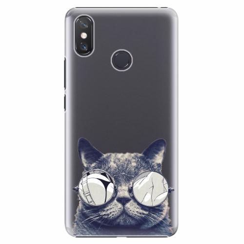 Plastový kryt iSaprio - Crazy Cat 01 - Xiaomi Mi Max 3
