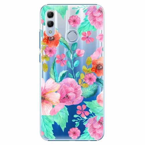 Plastový kryt iSaprio - Flower Pattern 01 - Huawei Honor 10 Lite