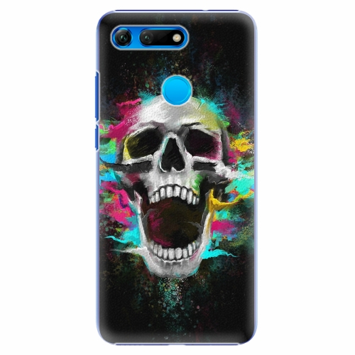 Plastový kryt iSaprio - Skull in Colors - Huawei Honor View 20