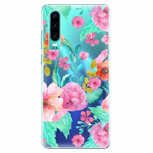 Plastový kryt iSaprio - Flower Pattern 01 - Huawei P30