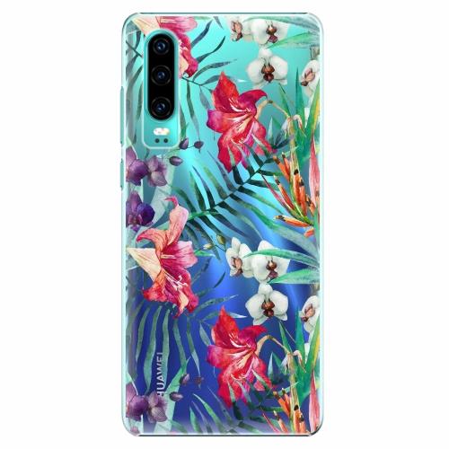 Plastový kryt iSaprio - Flower Pattern 03 - Huawei P30