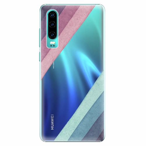 Plastový kryt iSaprio - Glitter Stripes 01 - Huawei P30