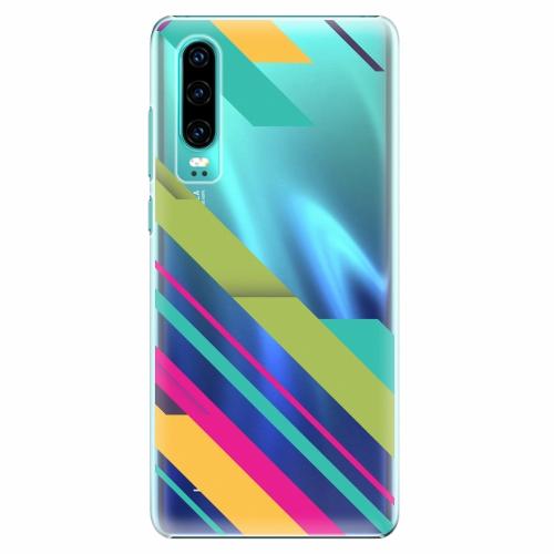 Plastový kryt iSaprio - Color Stripes 03 - Huawei P30