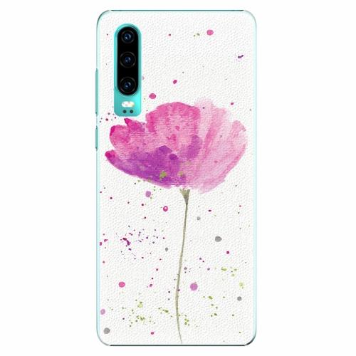 Plastový kryt iSaprio - Poppies - Huawei P30