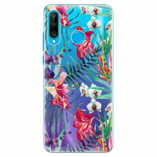 Plastový kryt iSaprio - Flower Pattern 03 - Huawei P30 Lite