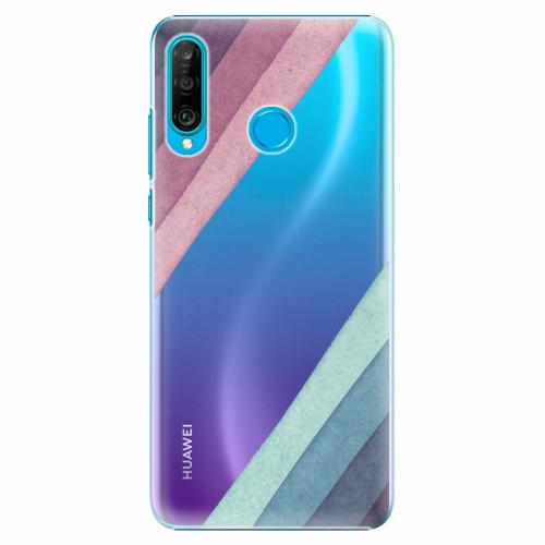 Plastový kryt iSaprio - Glitter Stripes 01 - Huawei P30 Lite