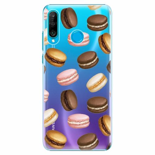 Plastový kryt iSaprio - Macaron Pattern - Huawei P30 Lite