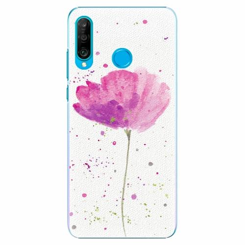 Plastový kryt iSaprio - Poppies - Huawei P30 Lite