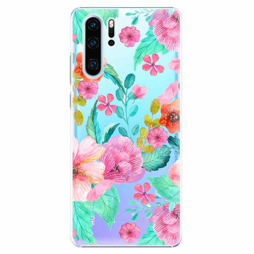 Plastový kryt iSaprio - Flower Pattern 01 - Huawei P30 Pro