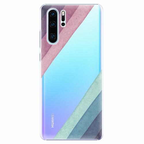 Plastový kryt iSaprio - Glitter Stripes 01 - Huawei P30 Pro