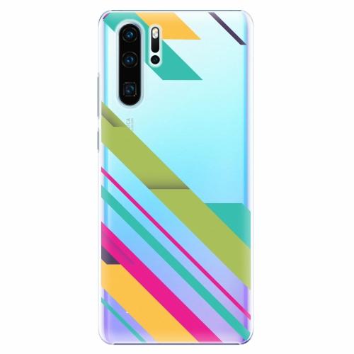 Plastový kryt iSaprio - Color Stripes 03 - Huawei P30 Pro