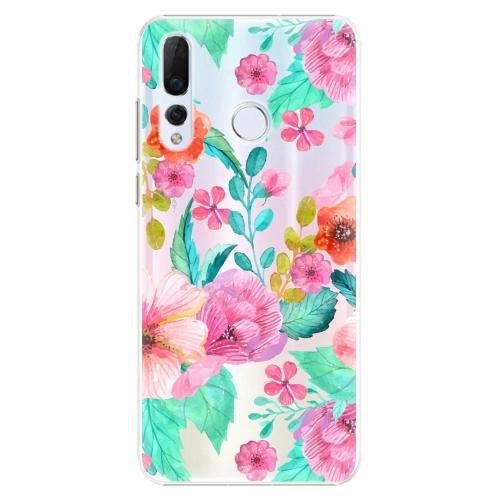 Plastový kryt iSaprio - Flower Pattern 01 - Huawei Nova 4