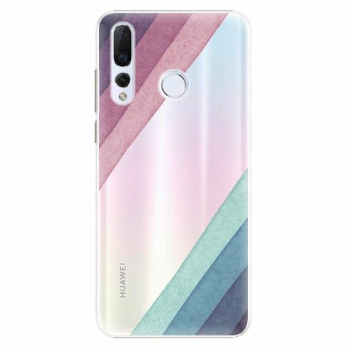 Plastový kryt iSaprio - Glitter Stripes 01 - Huawei Nova 4