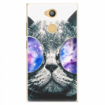 Plastový kryt iSaprio - Galaxy Cat - Sony Xperia L2