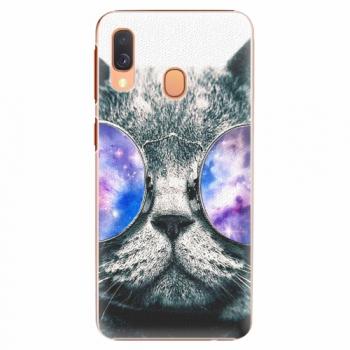 Plastový kryt iSaprio - Galaxy Cat - Samsung Galaxy A40