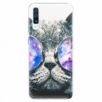 Plastový kryt iSaprio - Galaxy Cat - Samsung Galaxy A50