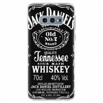 Plastový kryt iSaprio - Jack Daniels - Samsung Galaxy S10e