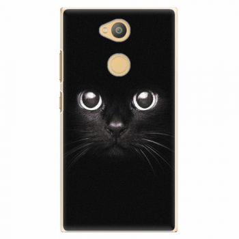 Plastový kryt iSaprio - Black Cat - Sony Xperia L2