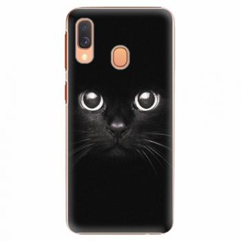 Plastový kryt iSaprio - Black Cat - Samsung Galaxy A40